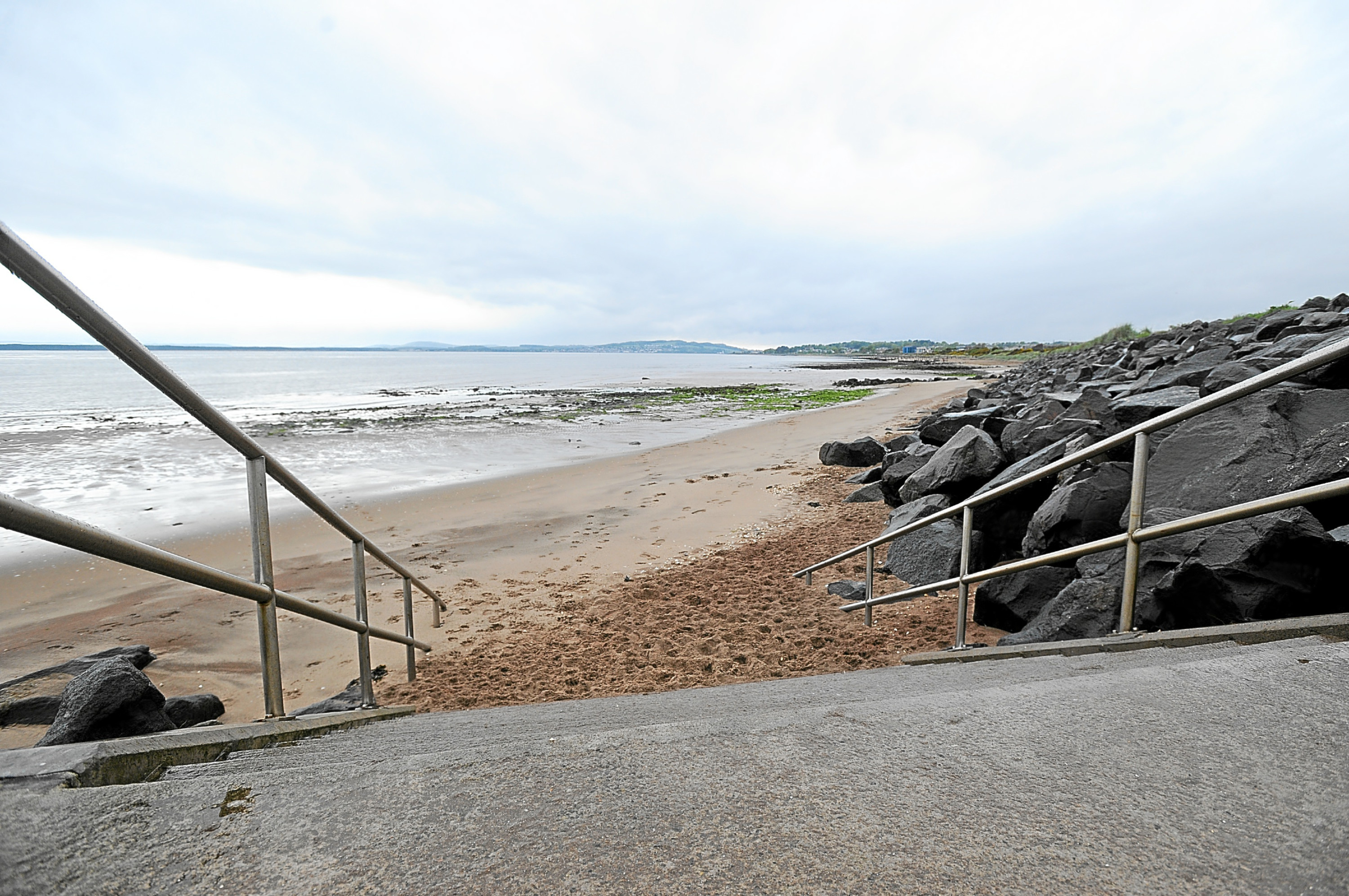 Monifieth beach.