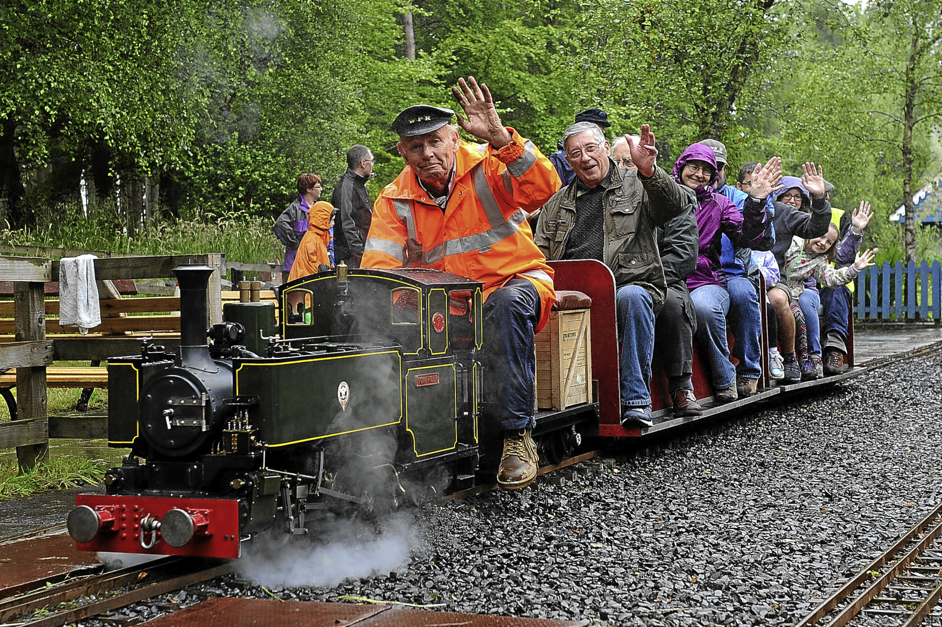 Journeys on the steam trains have previously proved popular at the Trusts open day at Wester Pickston Railway, Glenalmond.