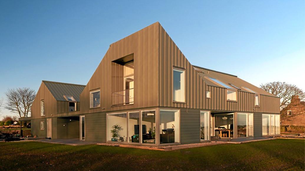 The award-winning Zinc-House near Monikie.