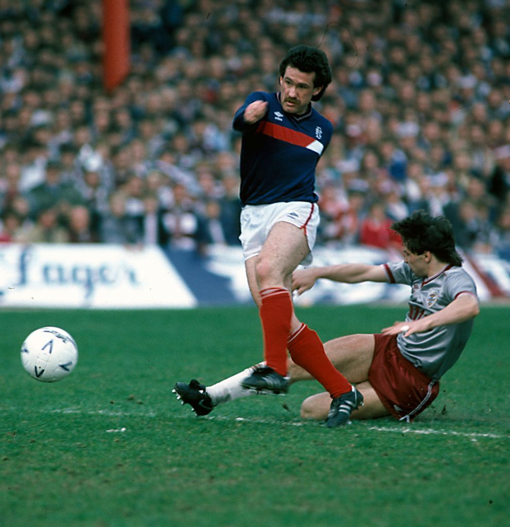 To me, to you...It was Albert Kidd who decided the Scottish title in Celtics favour.