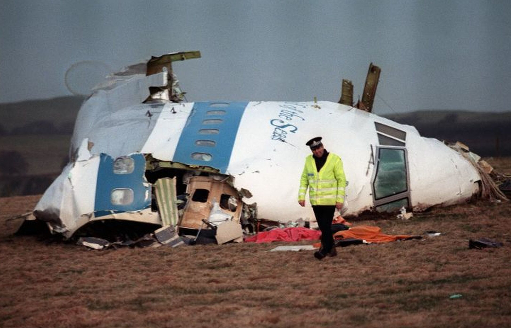 The Lockerbie disaster.