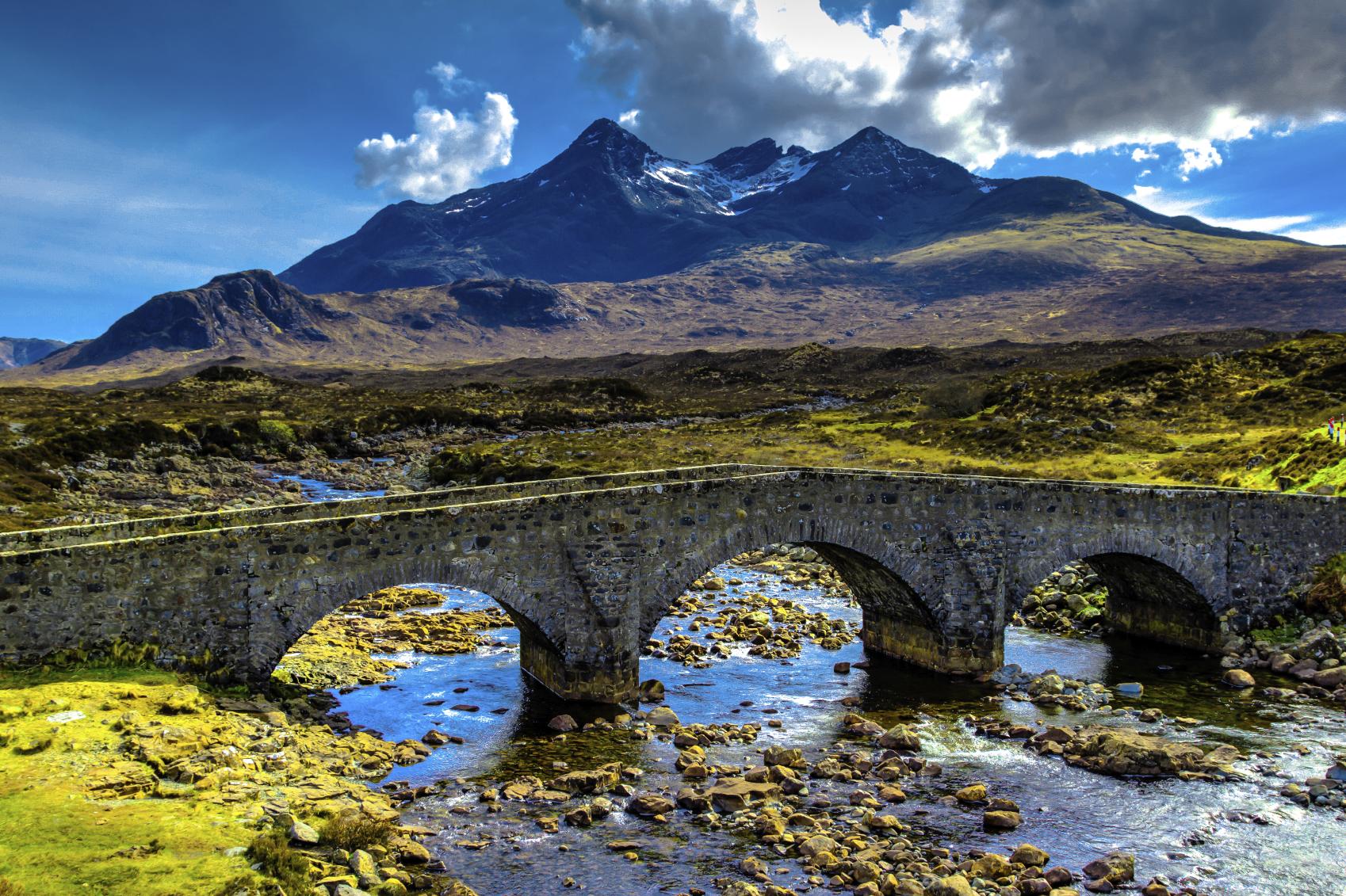Bridge on Skye.