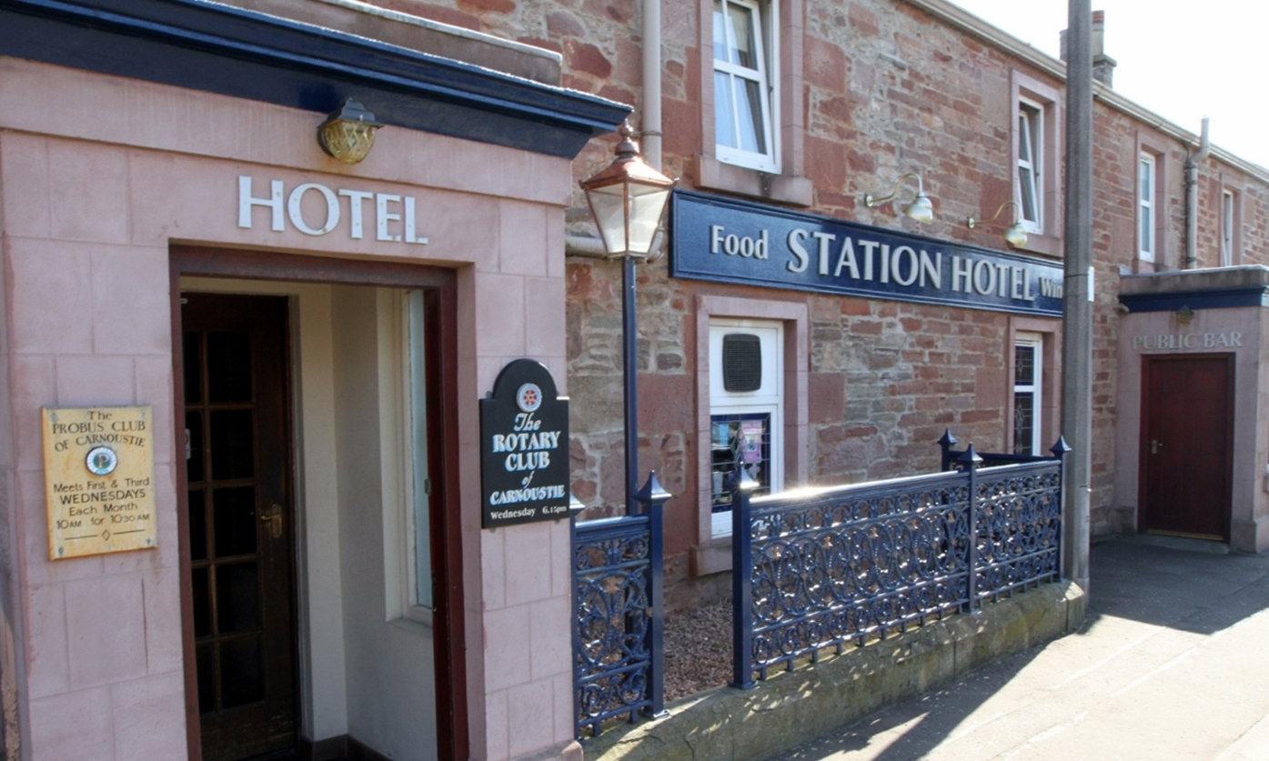 The Station Hotel in Carnoustie.