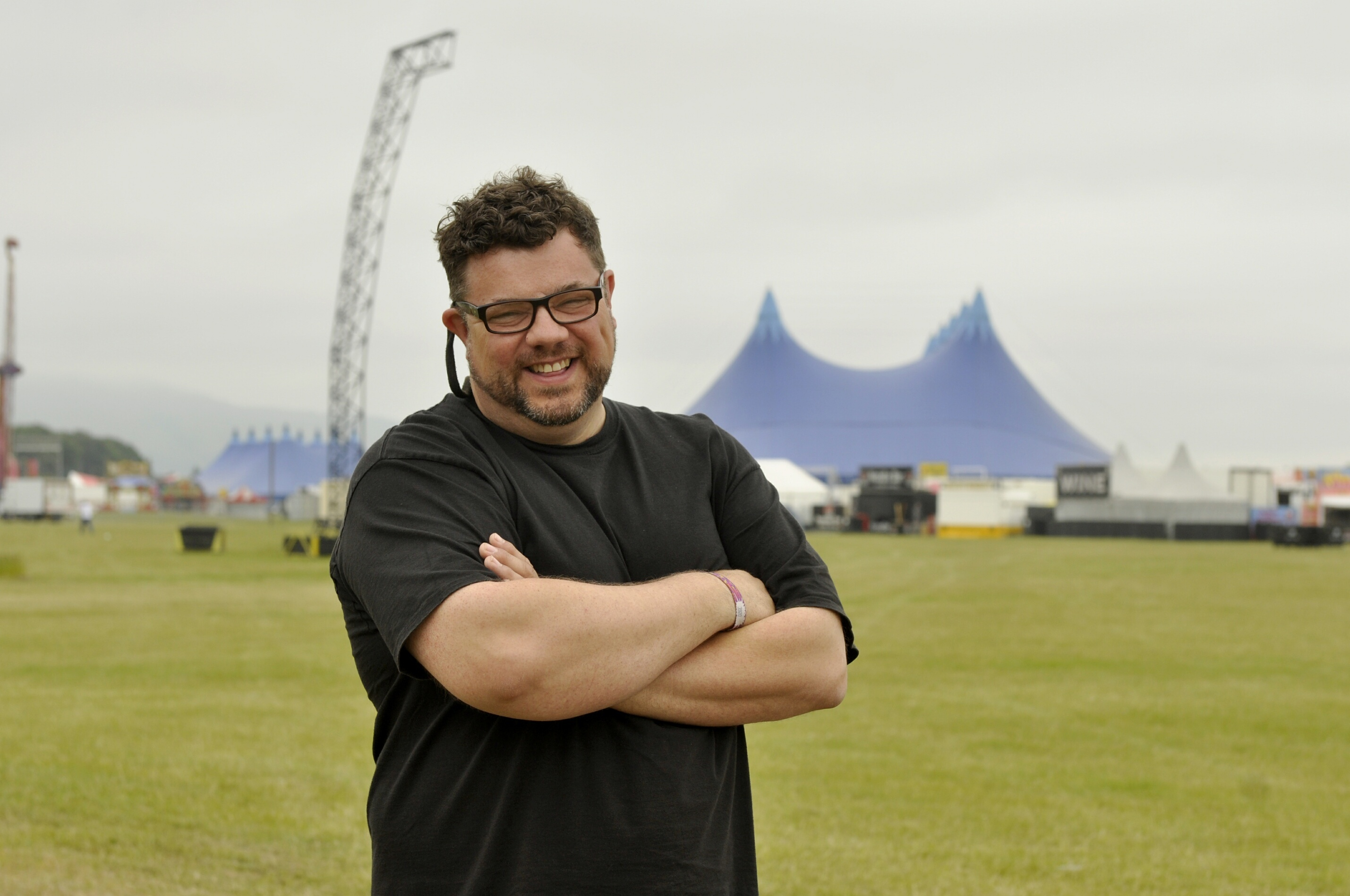Colin Rodger, head of event management for DF Concerts.