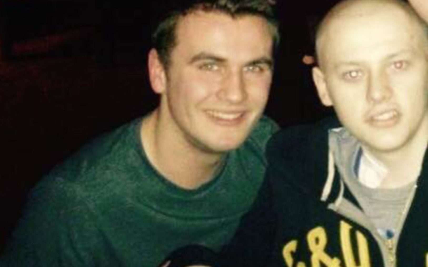 Patrick Wallace with his late friend Christopher Coutts