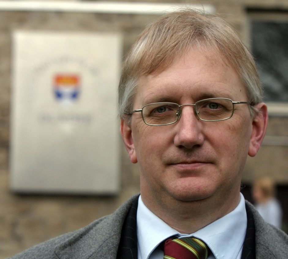 Former Dundee University rector Craig Murray.