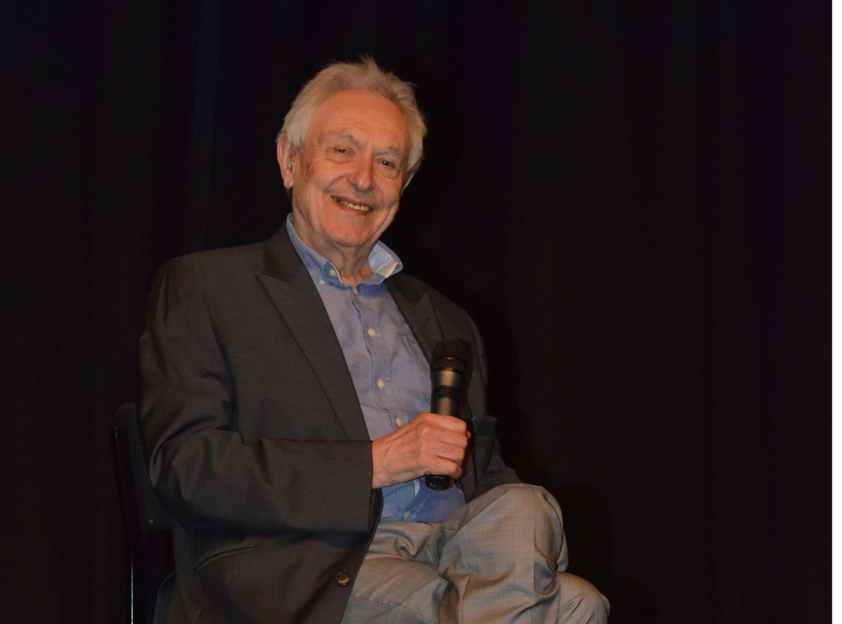 World famous obstetrician Michel Odent  speaks at the Lochgelly Centre.
