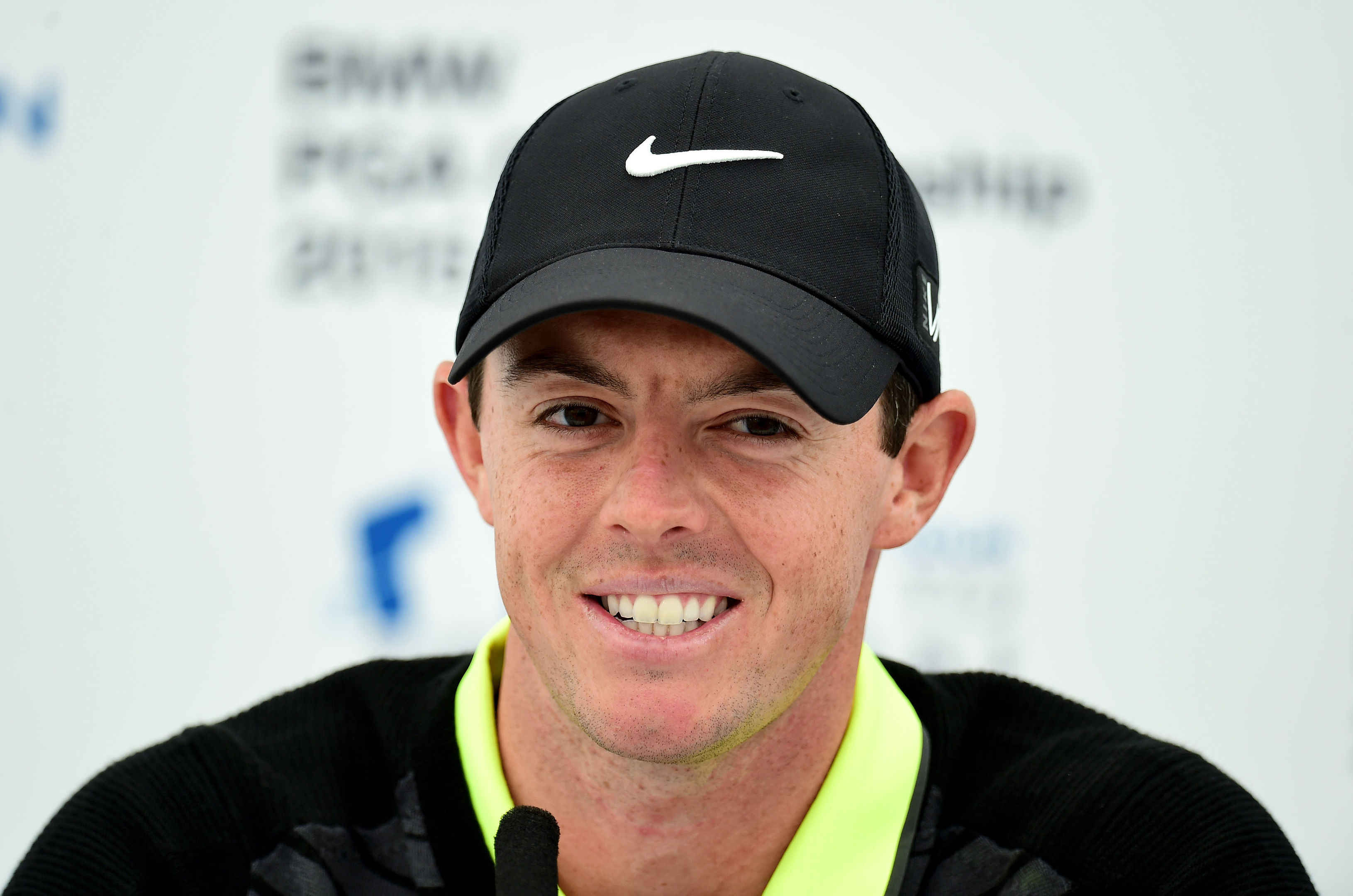 Rory McIlroy is three clear at halfway in the BMW PGA Championship.