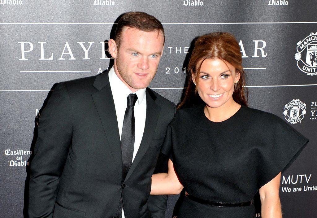 Wayne and Coleen Rooney.