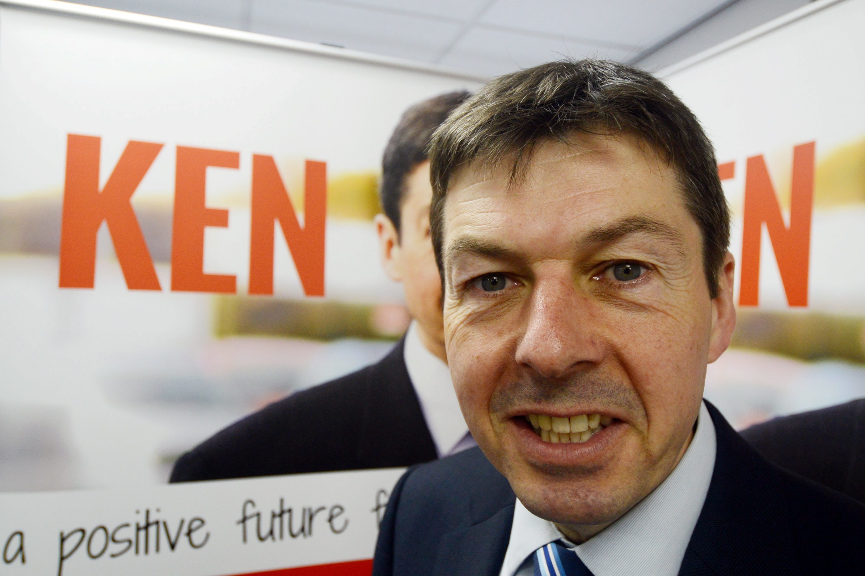 Ken Macintosh during his Scottish Labour leadership campaign