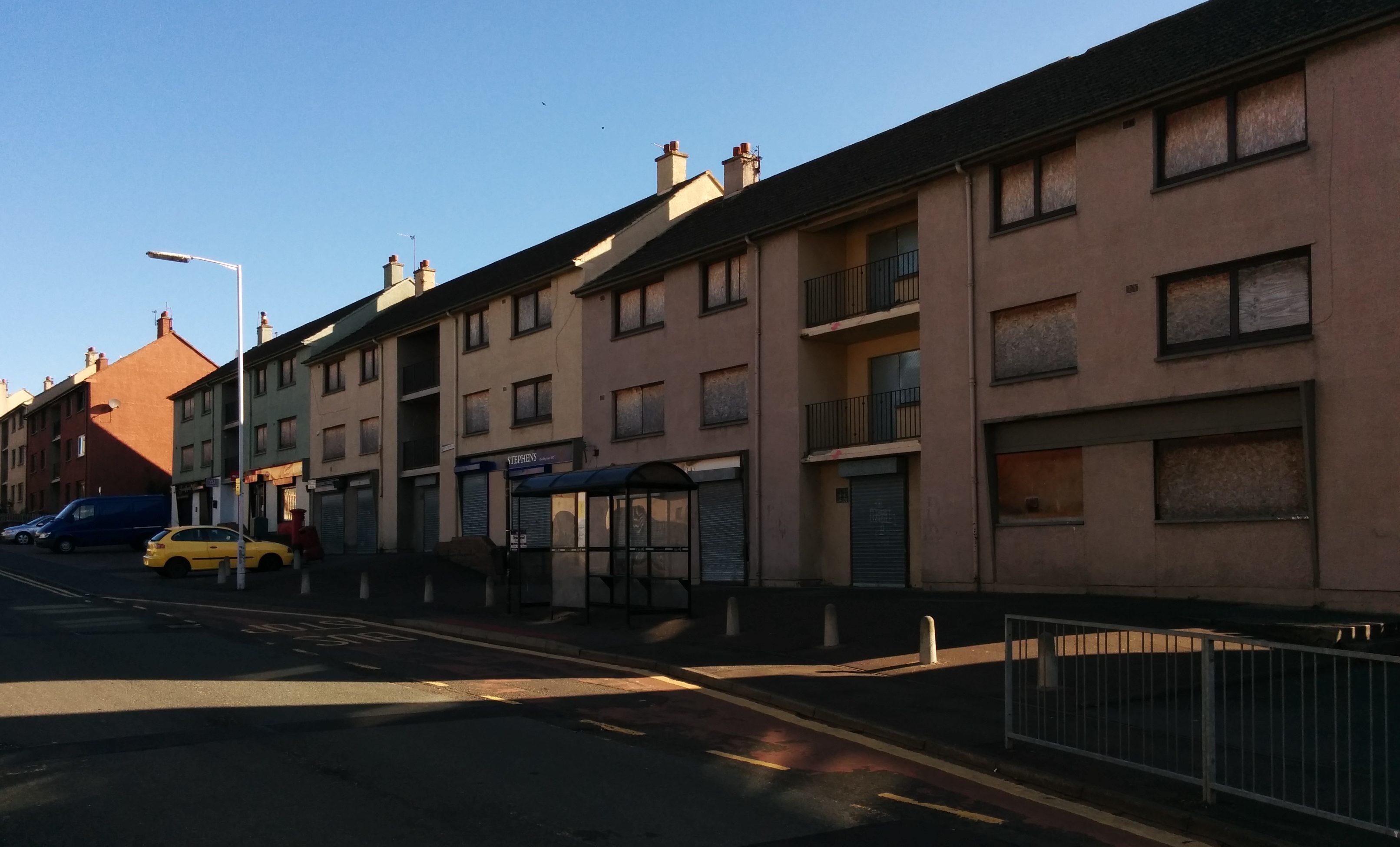 Inverkeithings Fraser Avenue, as it looks now.