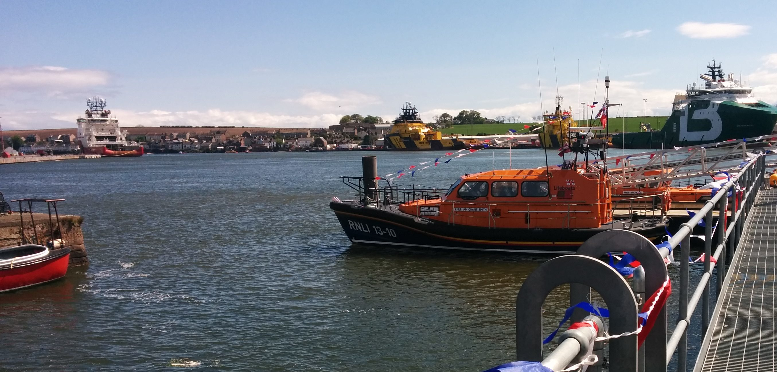 The new £2.1m lifeboat incorporates the very latest computer technology.
