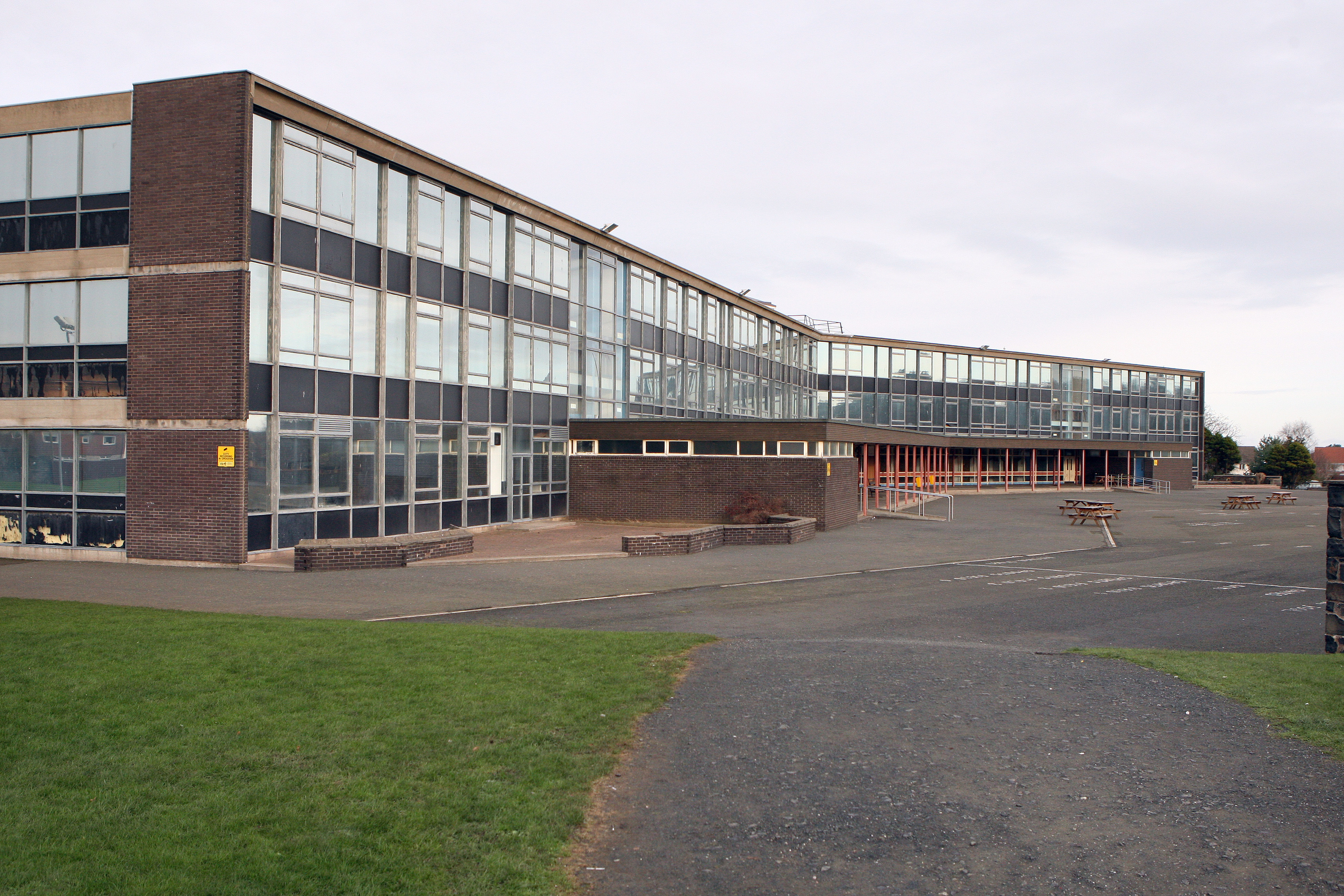 The current Madras College at Kilrymont is being replaced