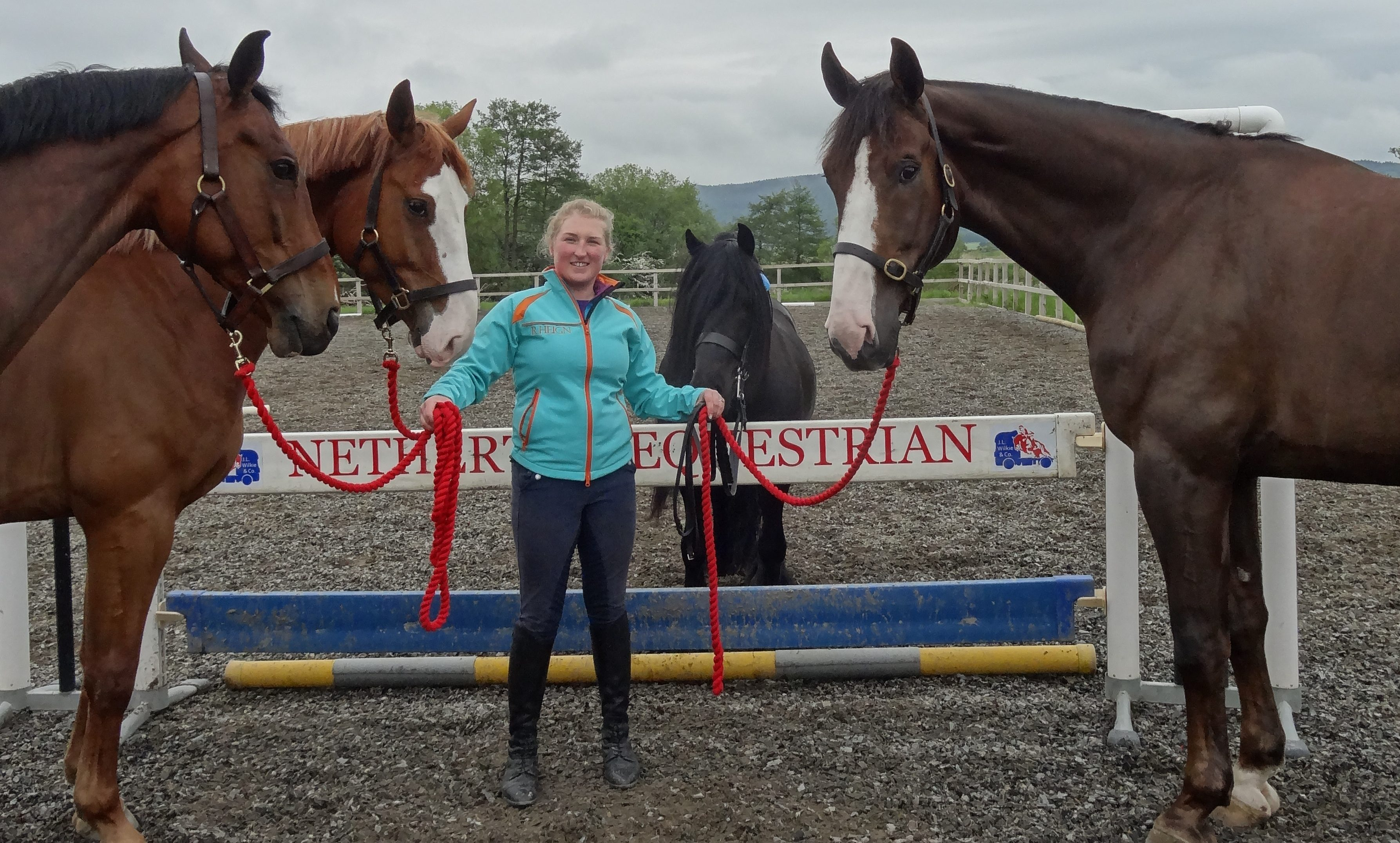 Kirsty Aird will have her hands full at the Highland Show.