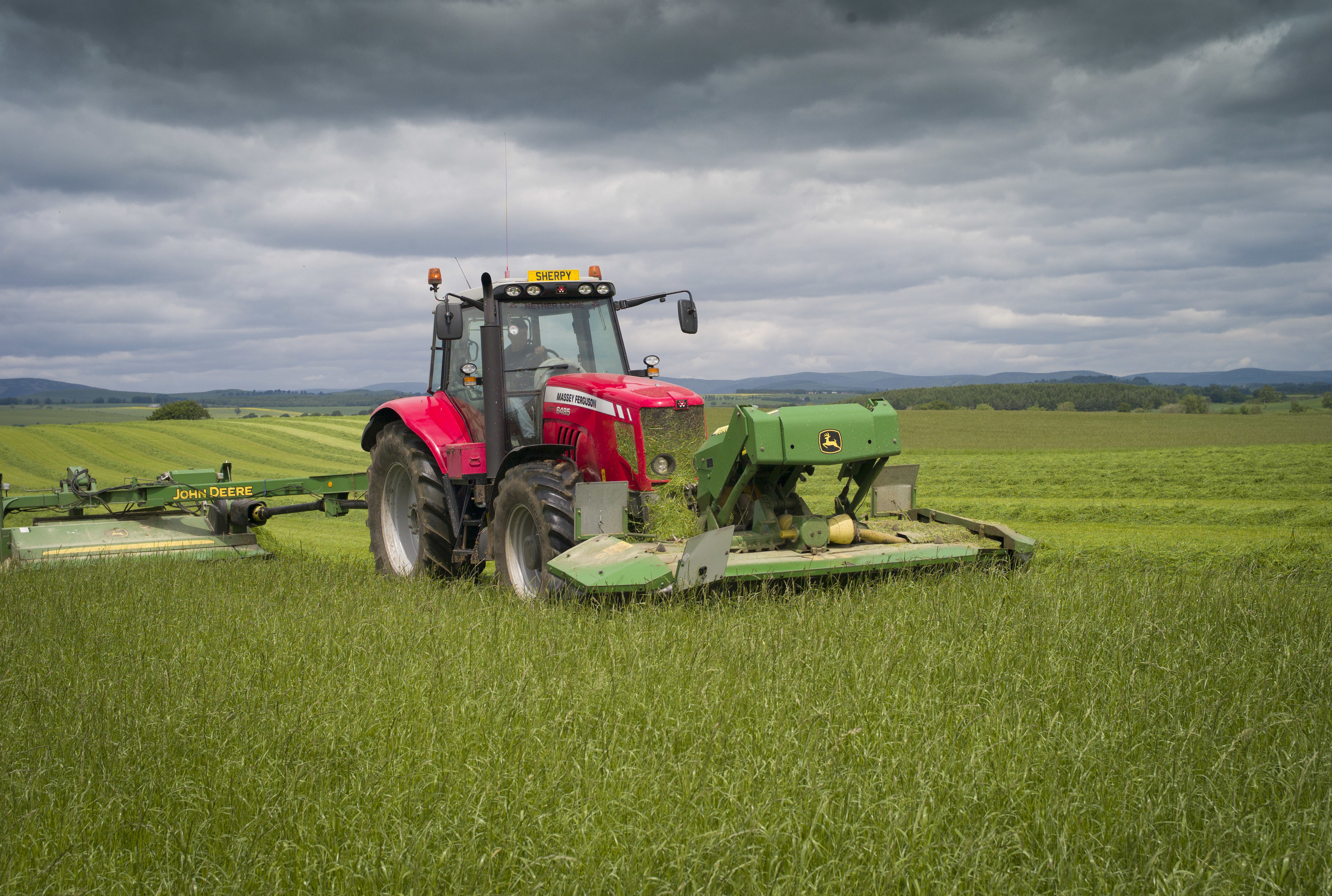 Farmers had been told to manage their grassland better