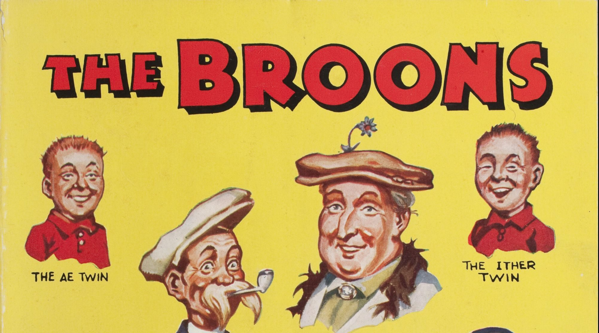 Dundee's popular comic book family, the Broons.