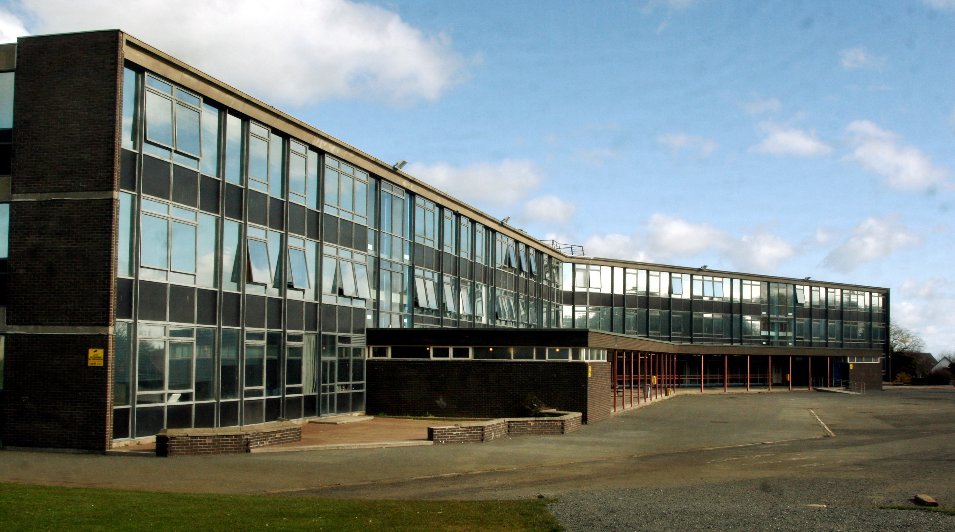 The existing  Kilrymont campus.
