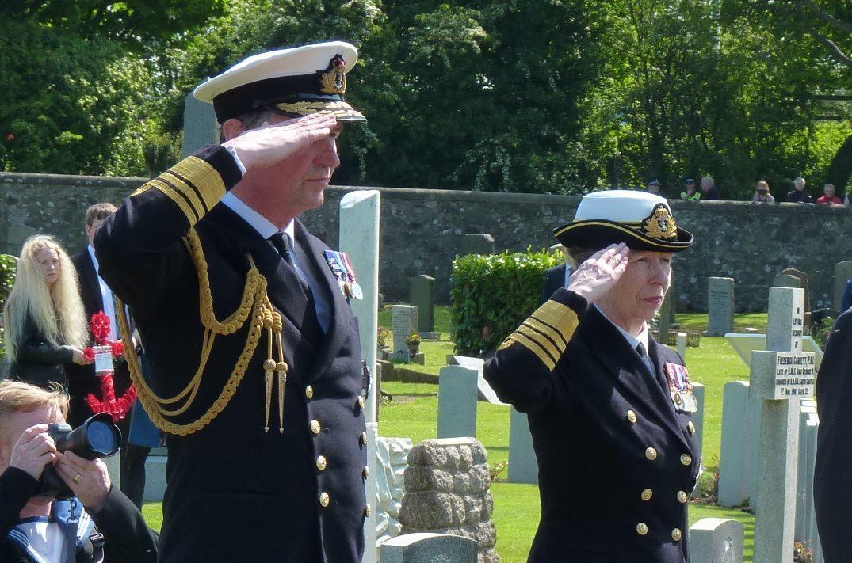 Sir Tim Laurence and The Princess Royal
