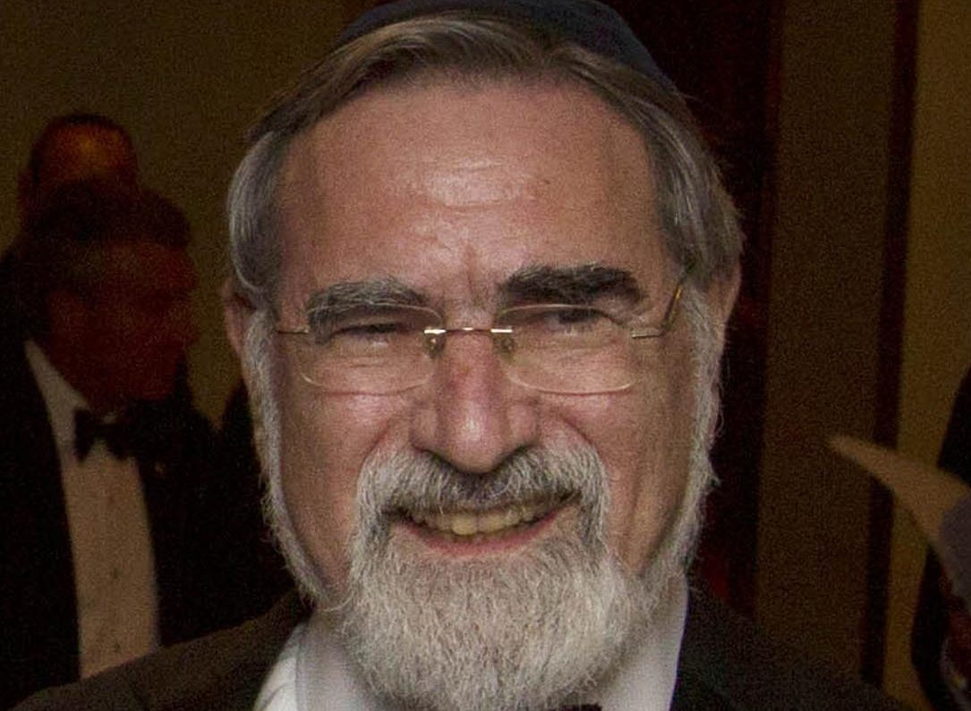 Lord Sacks, Chief Rabbi of the United Hebrew Congregations of the Commonwealth