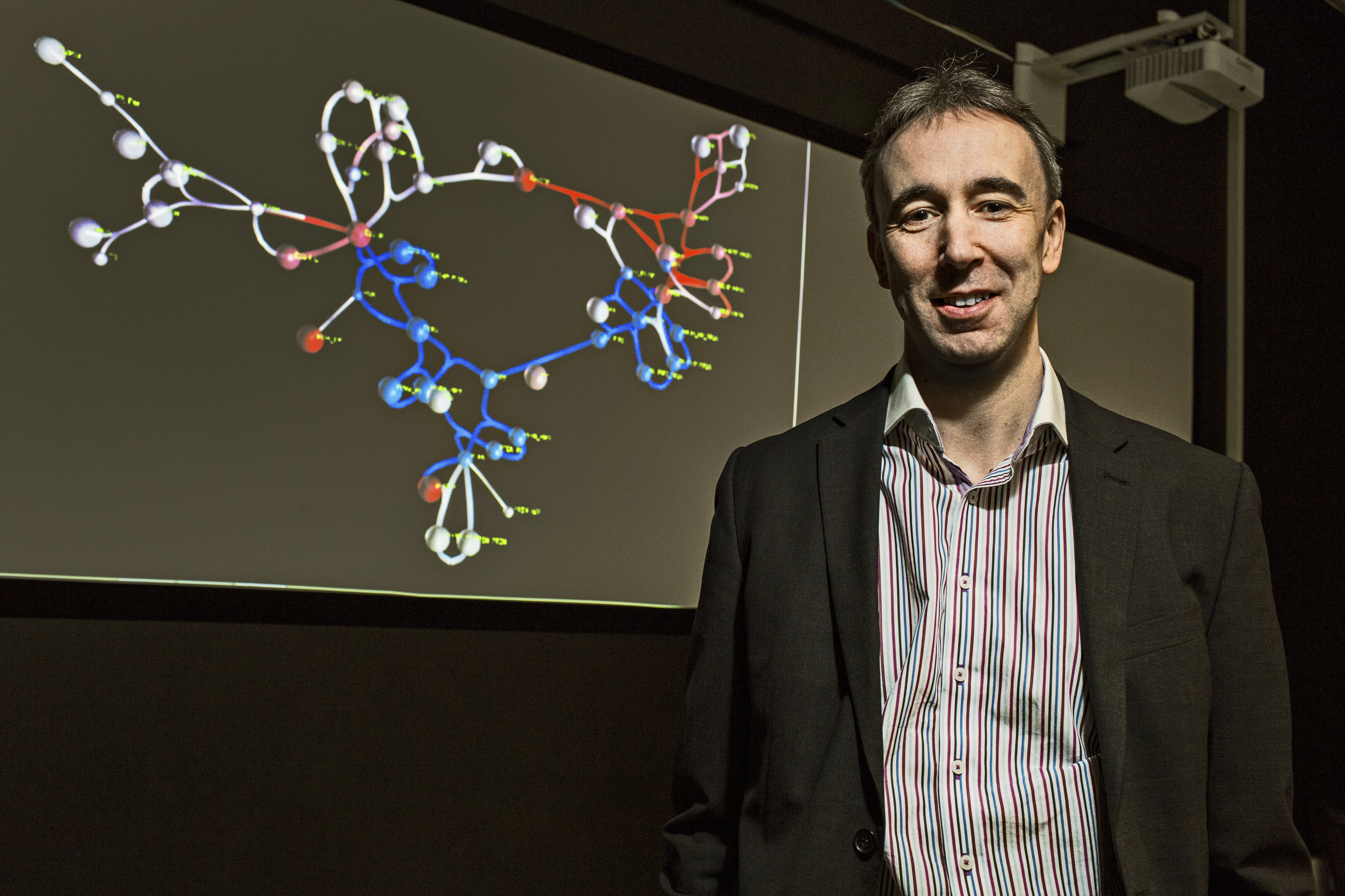 Professor Jim Bown believes the SiViT software could lead to cancer breakthroughs.
