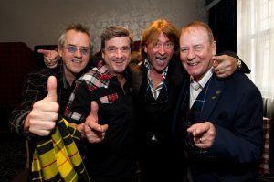 As they are now (L-R): Stuart Wood, Les mcKeown, Donald mcleod, Alan longmuir.