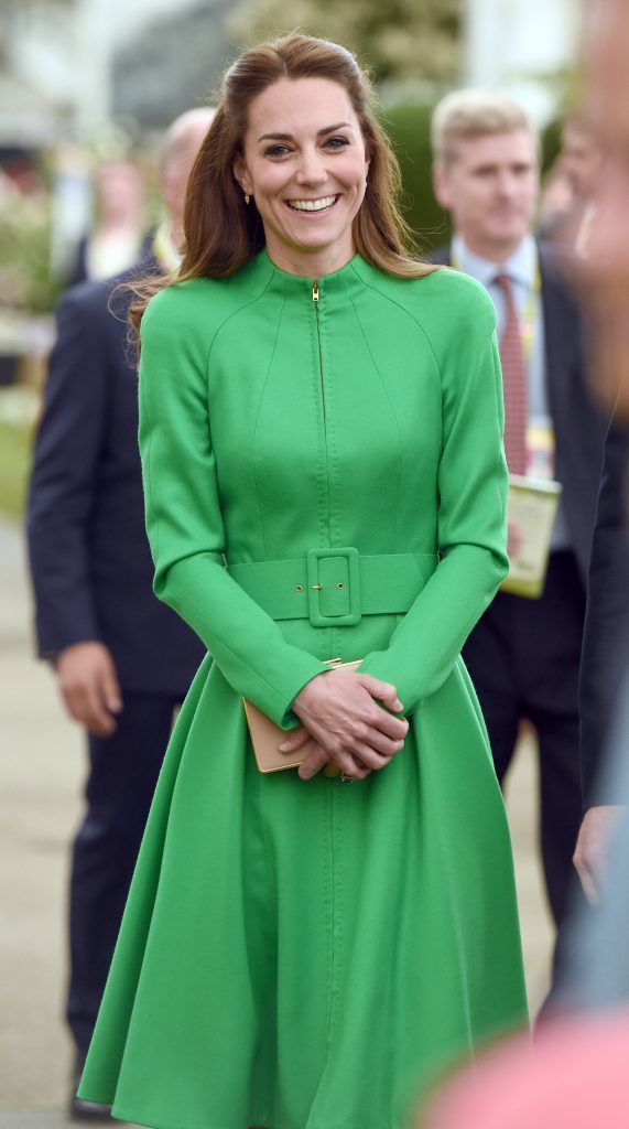 The Duchess of Cambridge during a visit to the RHS Chelsea Flower Show, at the Royal Hospital Chelsea, London.