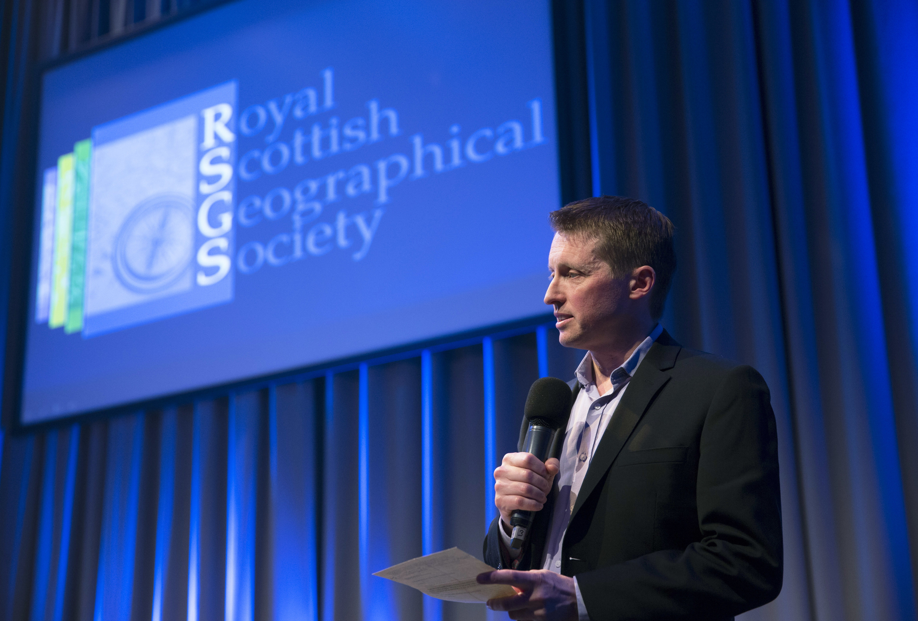 Mike Robinson, chief executive of the Royal Scottish Geographical Society.