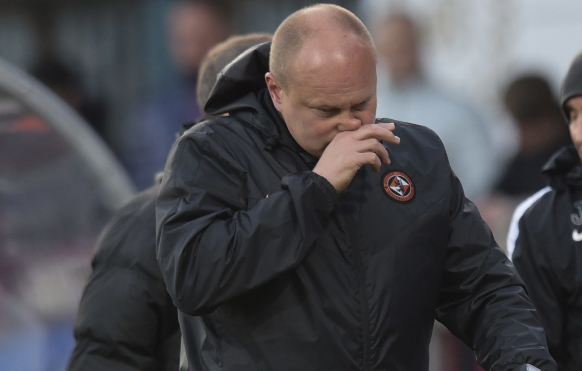 Mixu Paatelainen at the final whistle.