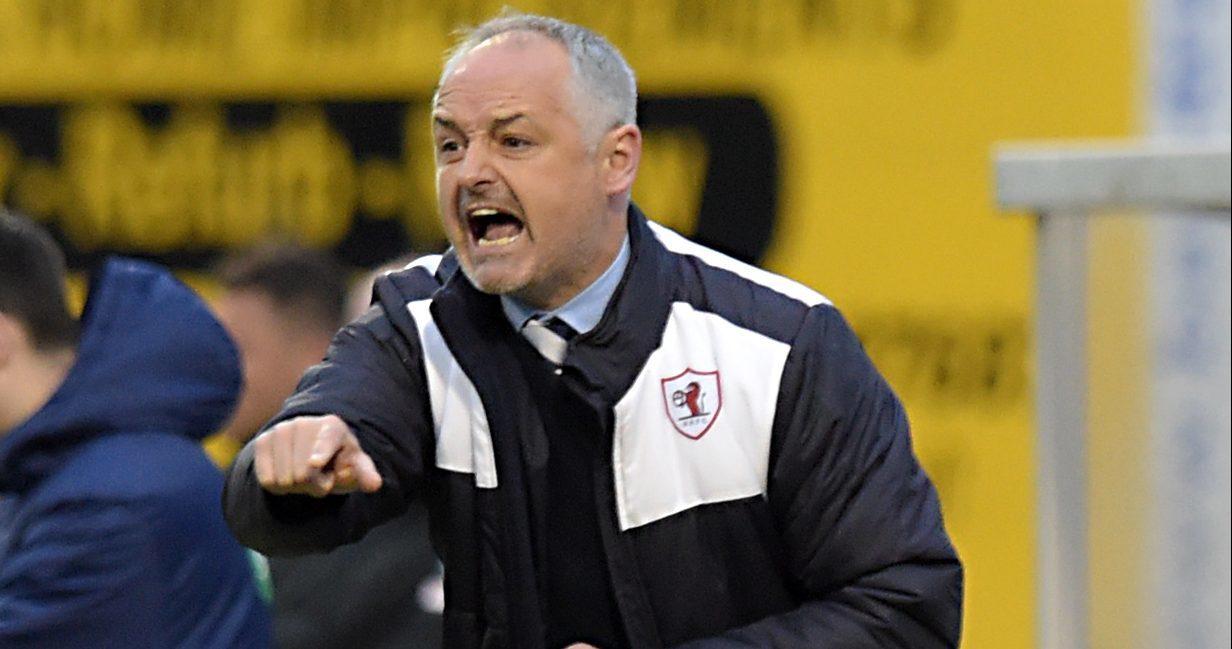 Ray McKinnon at Raith Rovers.