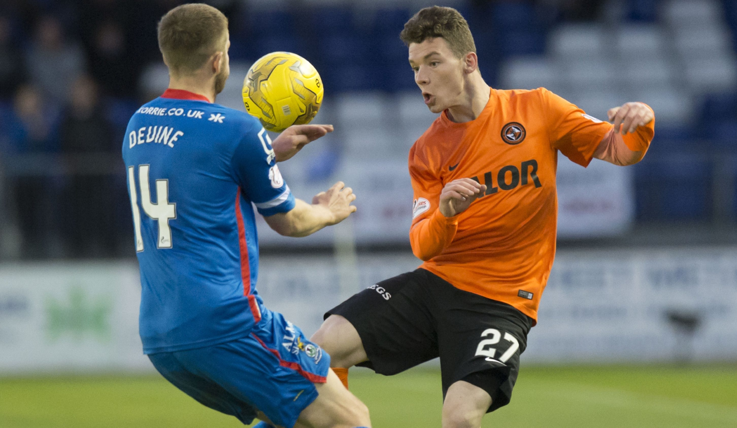 Ali Coote (right) in action against Inverness.