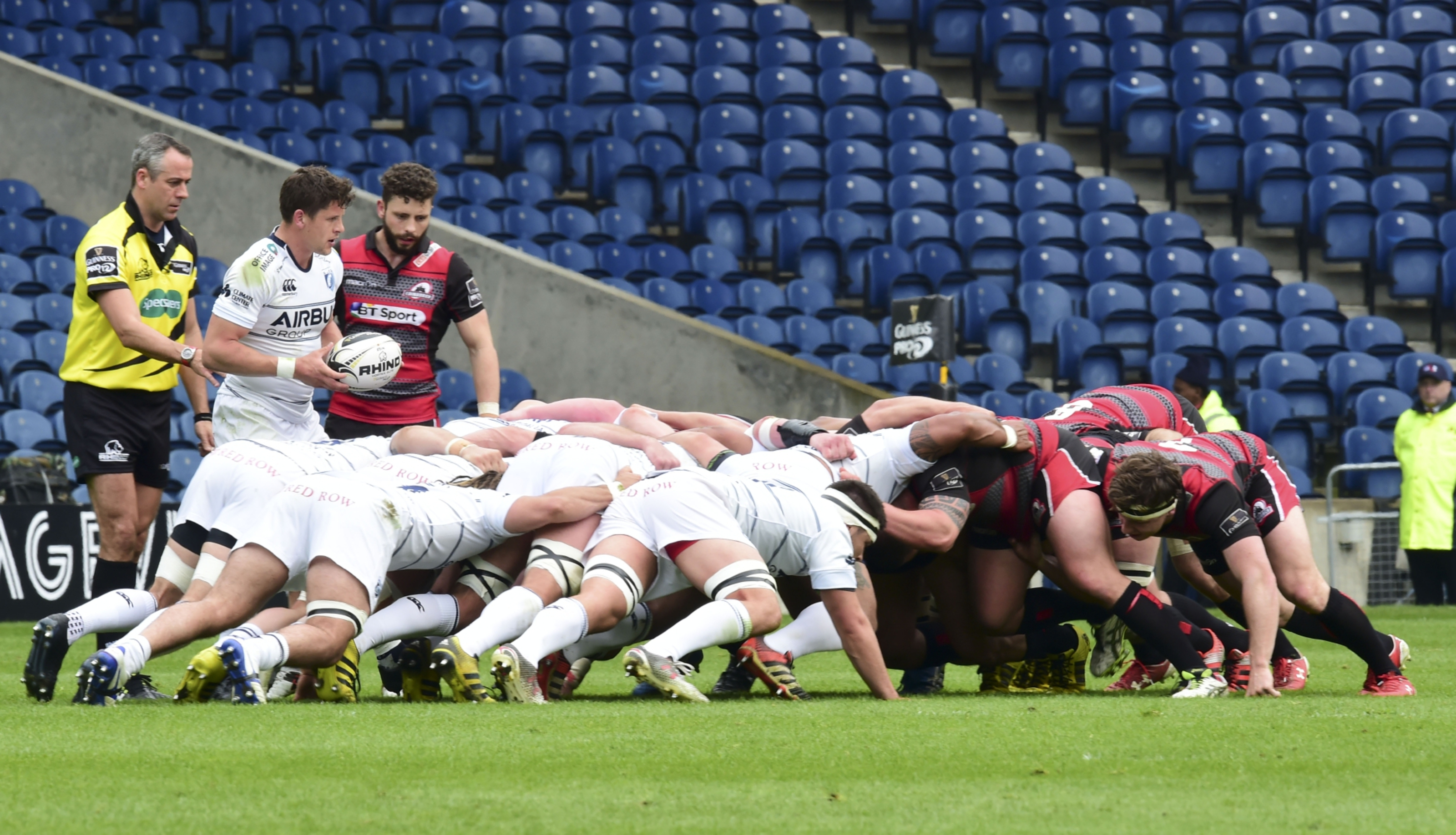 Edinburgh are set to leave the masses of empty seats at BT Murrayfield behind them and move to Myreside.