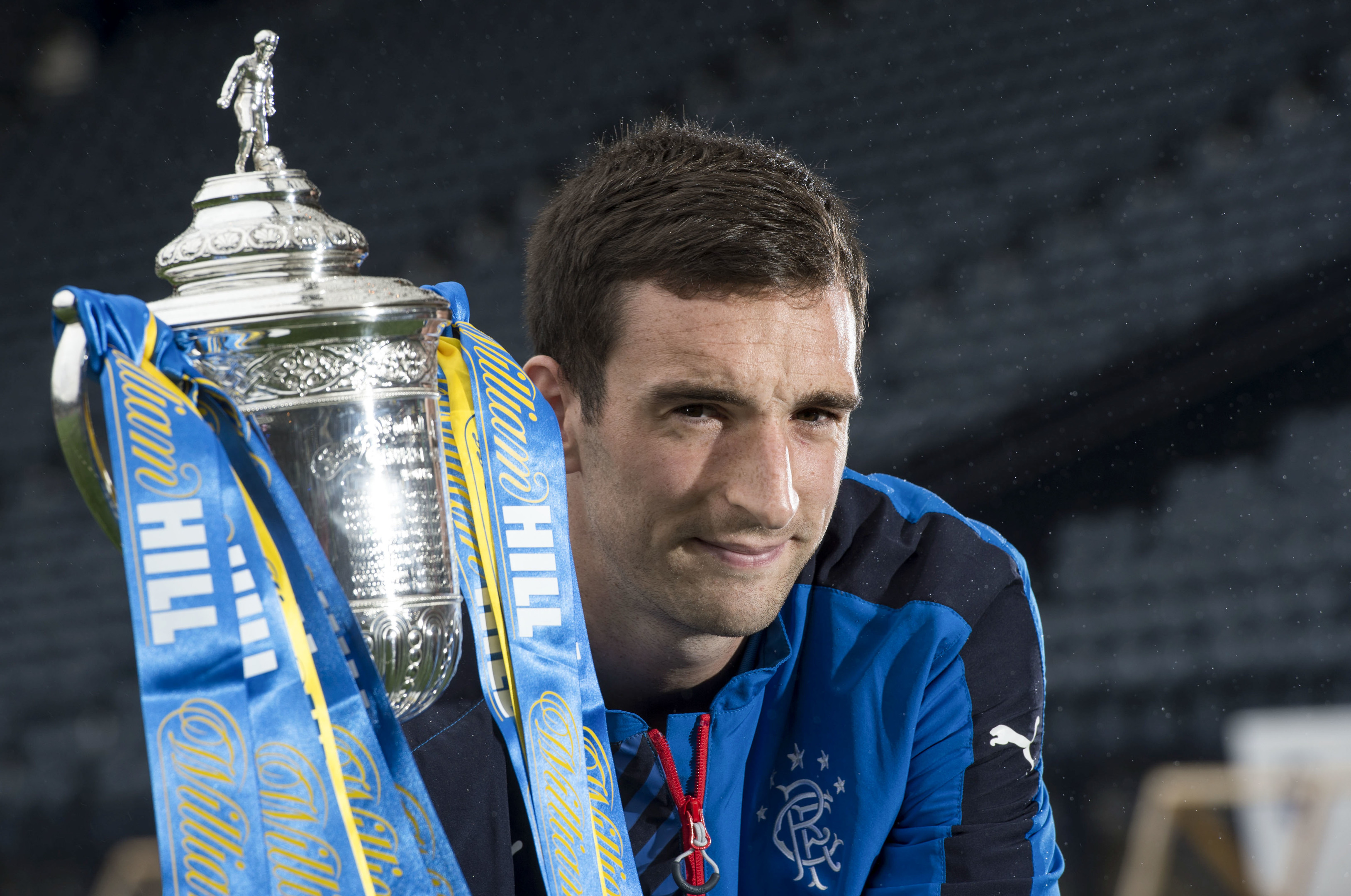 Rangers captain Lee Wallace is hoping to lift silverware at Hampden.