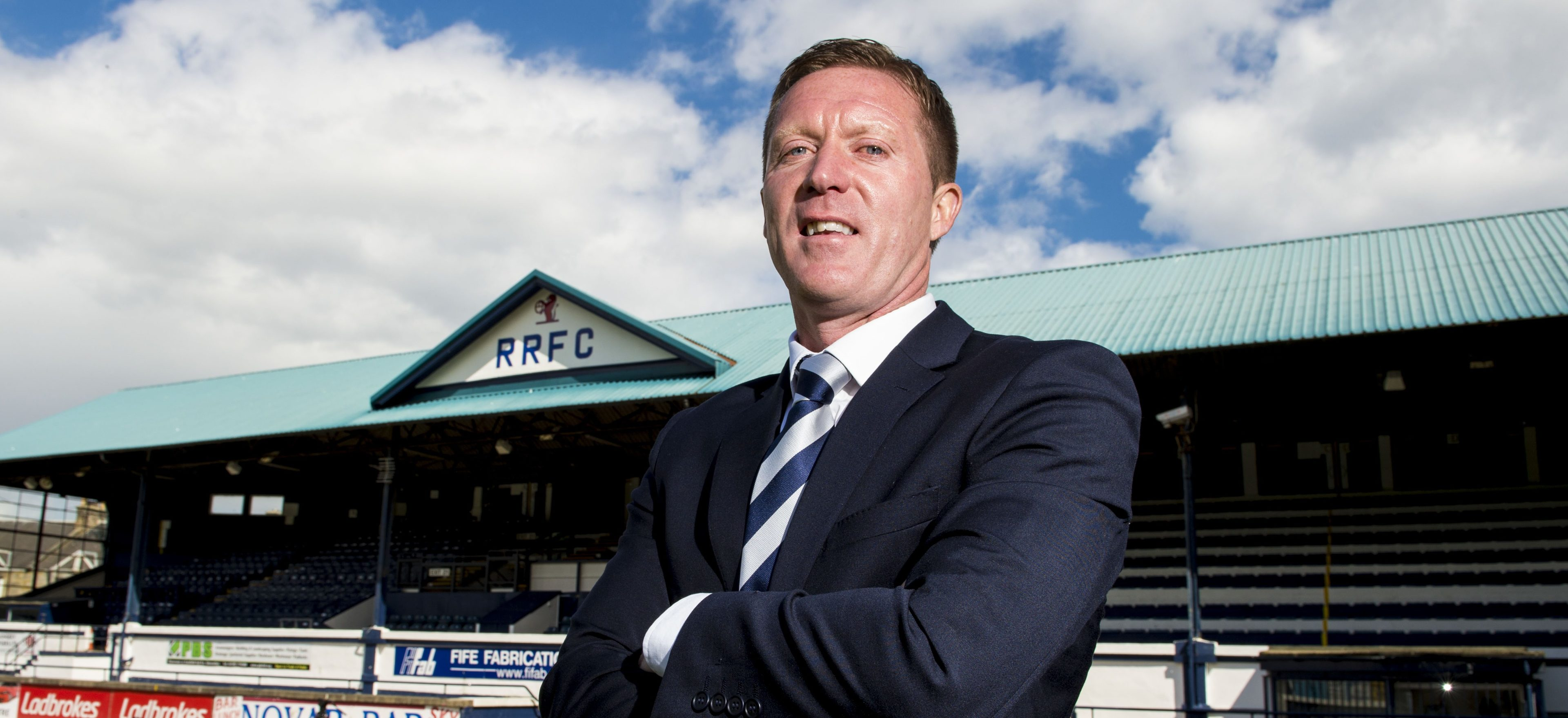 New Raith boss Gary Locke.