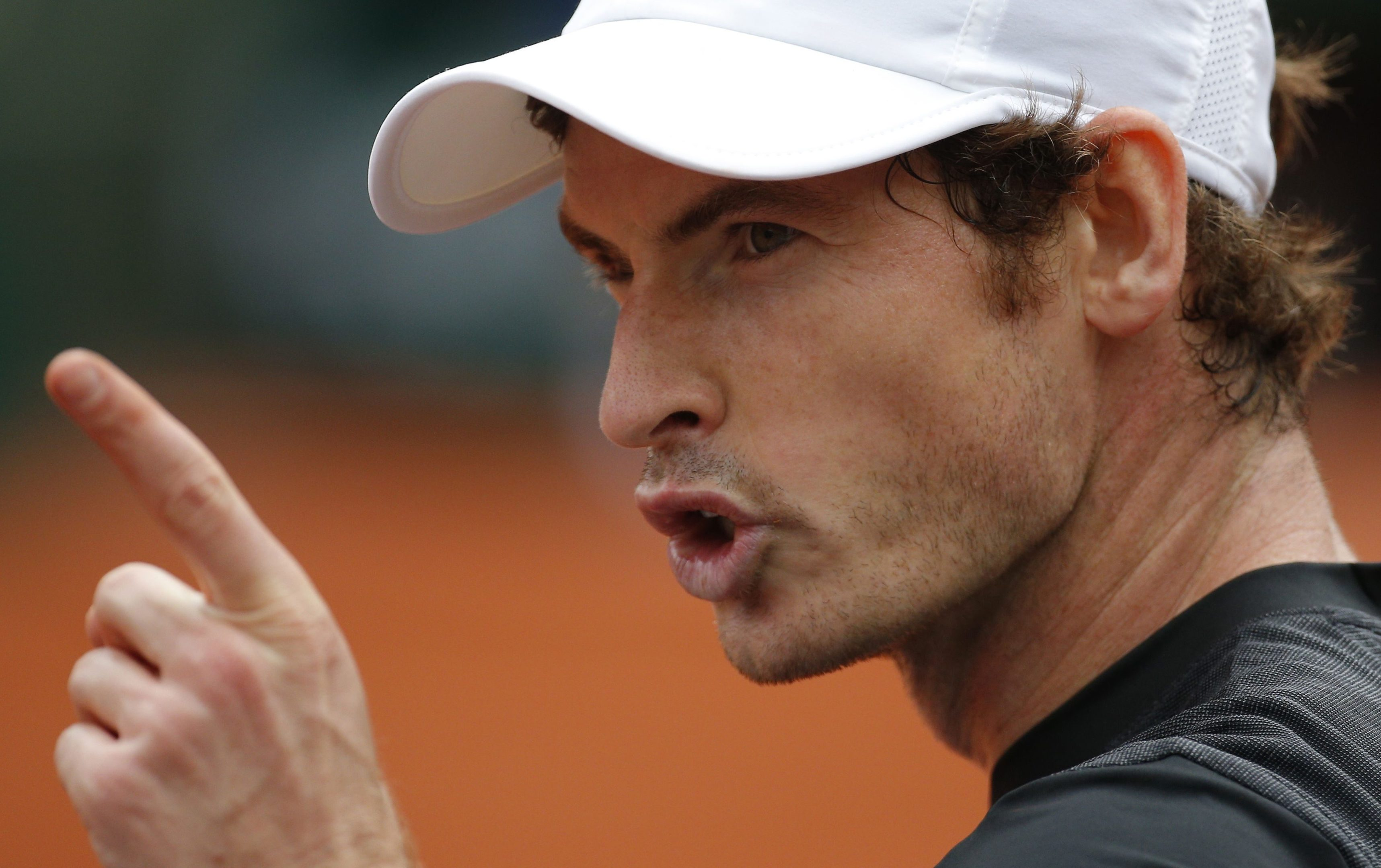 Andy Murray saw off Radek Stepanek in the first round of the French Open.