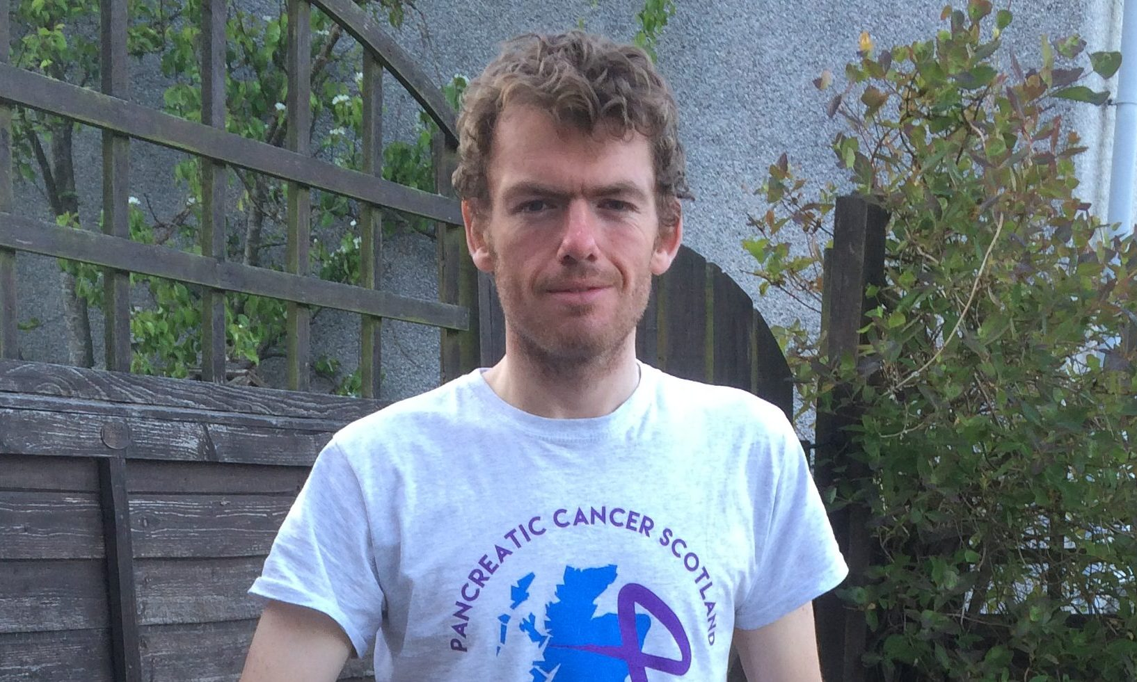 William Gerry, 30, Killin, is aiming to cycle the height of Everest and 12,000 miles in honour of his mother he lost to pancreatic cancer.