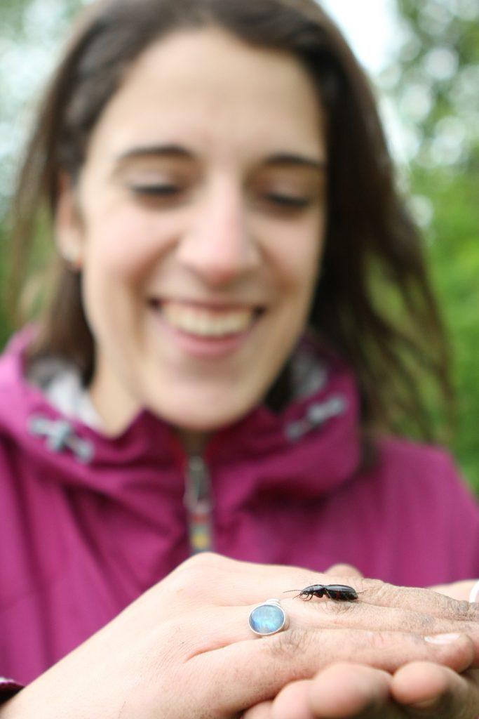 Gabrielle Flinn - getting down with the bugs
