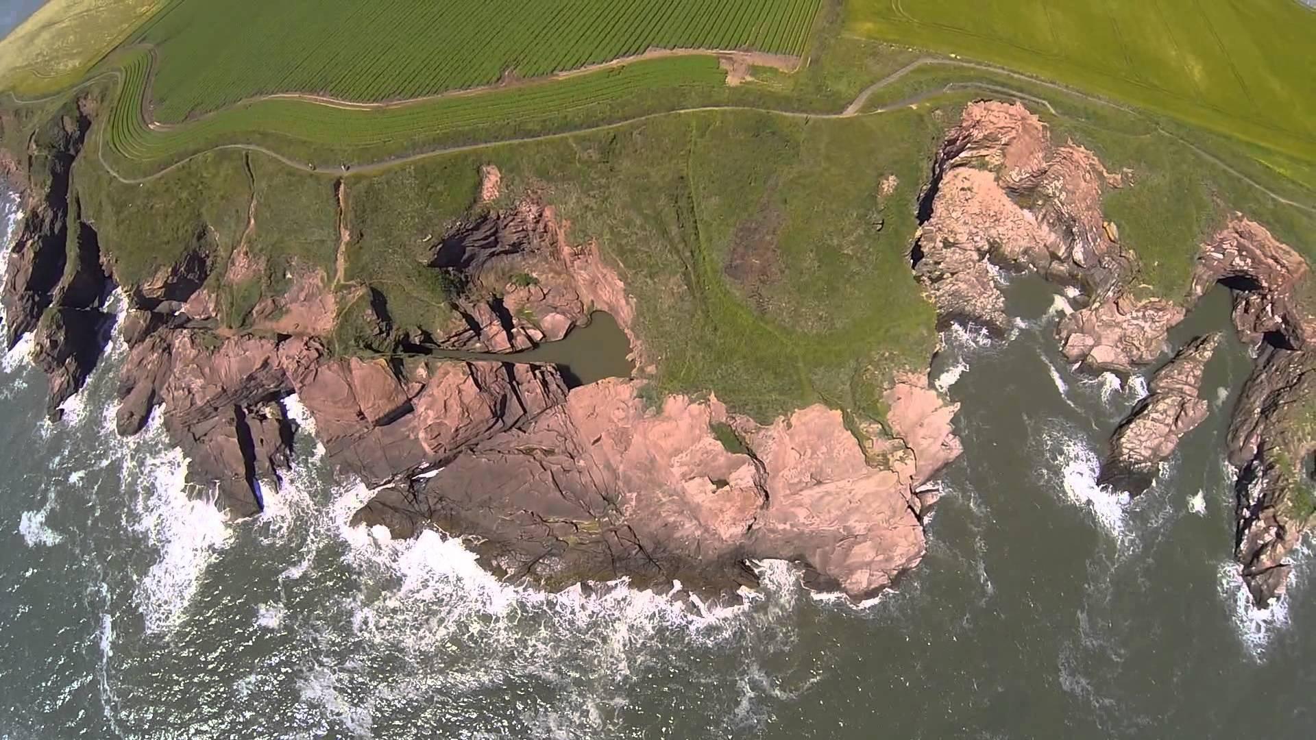 Seaton Cliffs at Arbroath