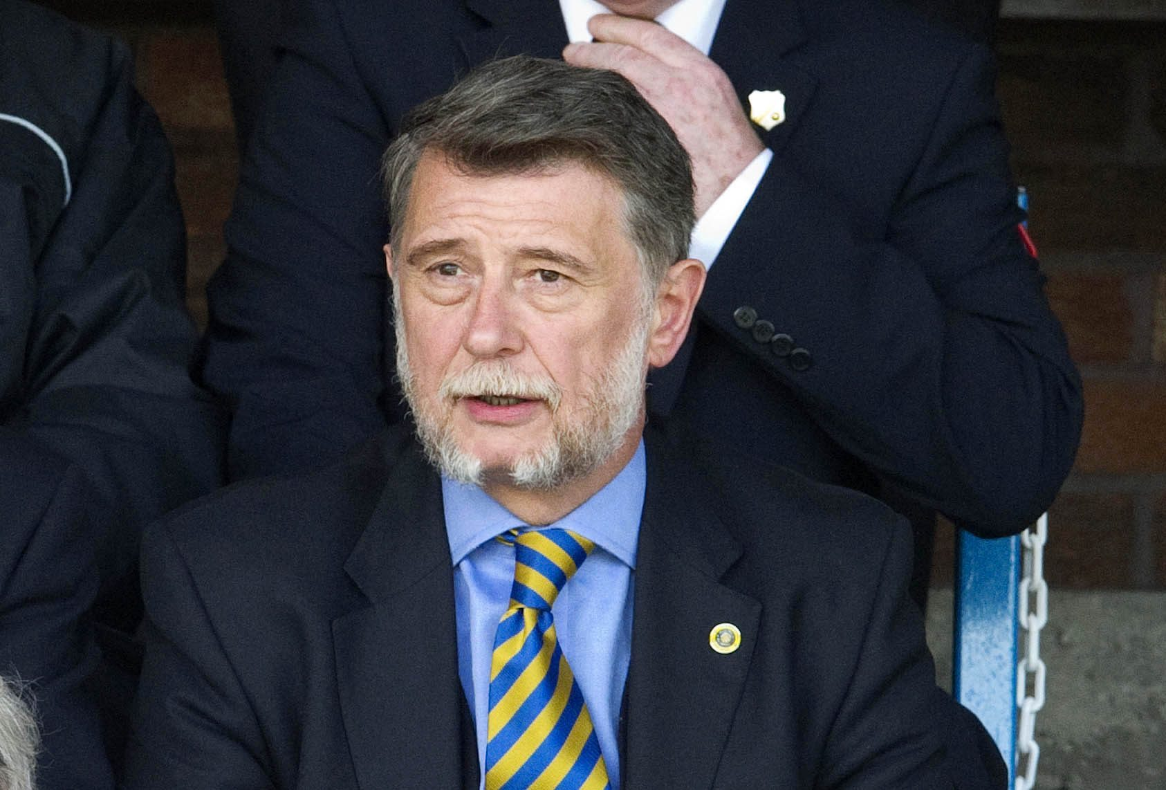 Cowdenbeath chairman Donald Findlay QC.