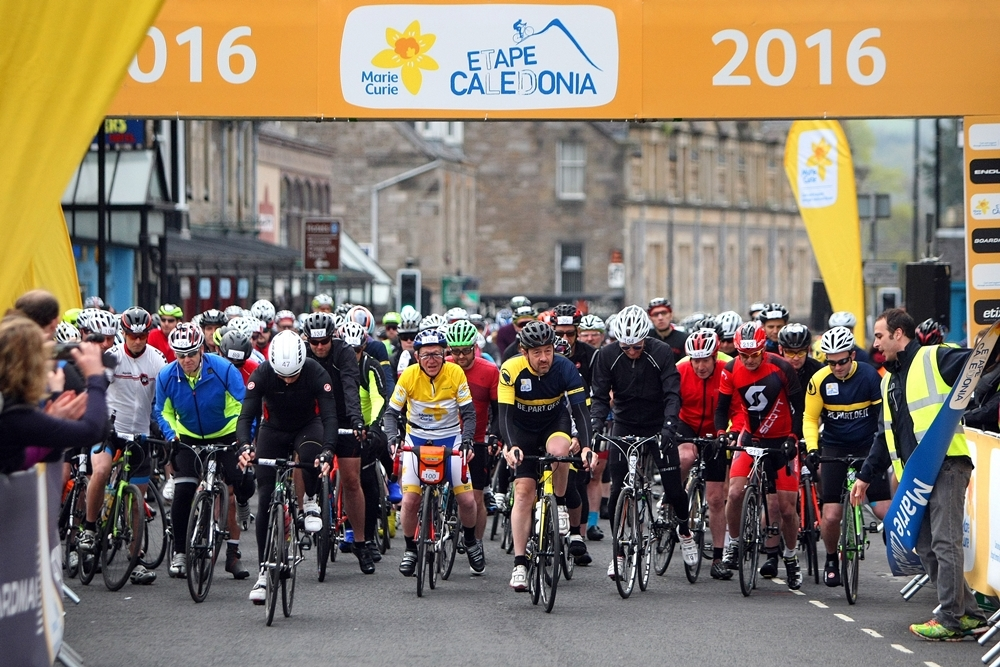 Thousands took part in the event in Perthshire this weekend.