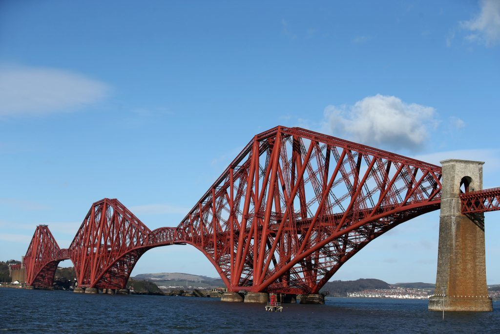 The Forth Bridge is an iconic internationally recognised structure