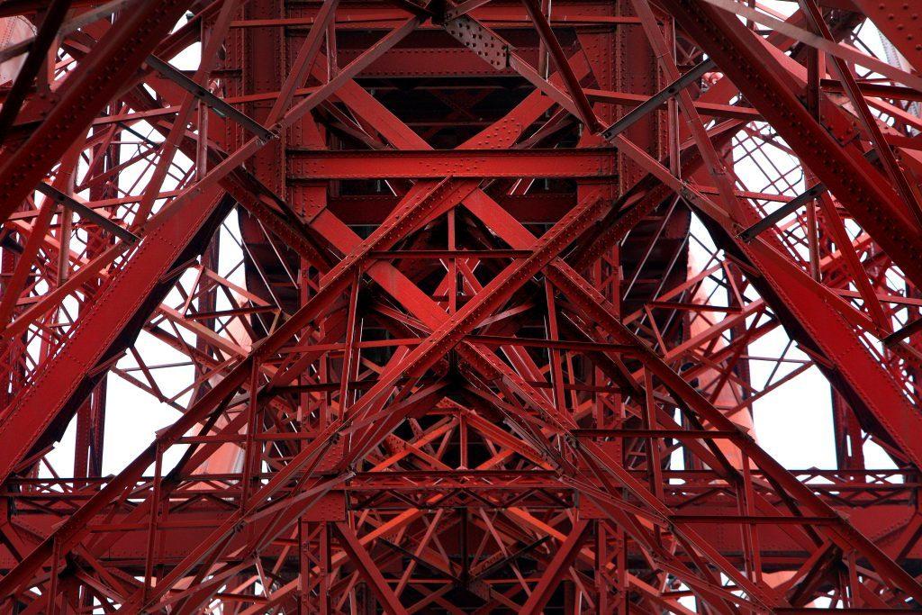 Forth Rail Bridge from below