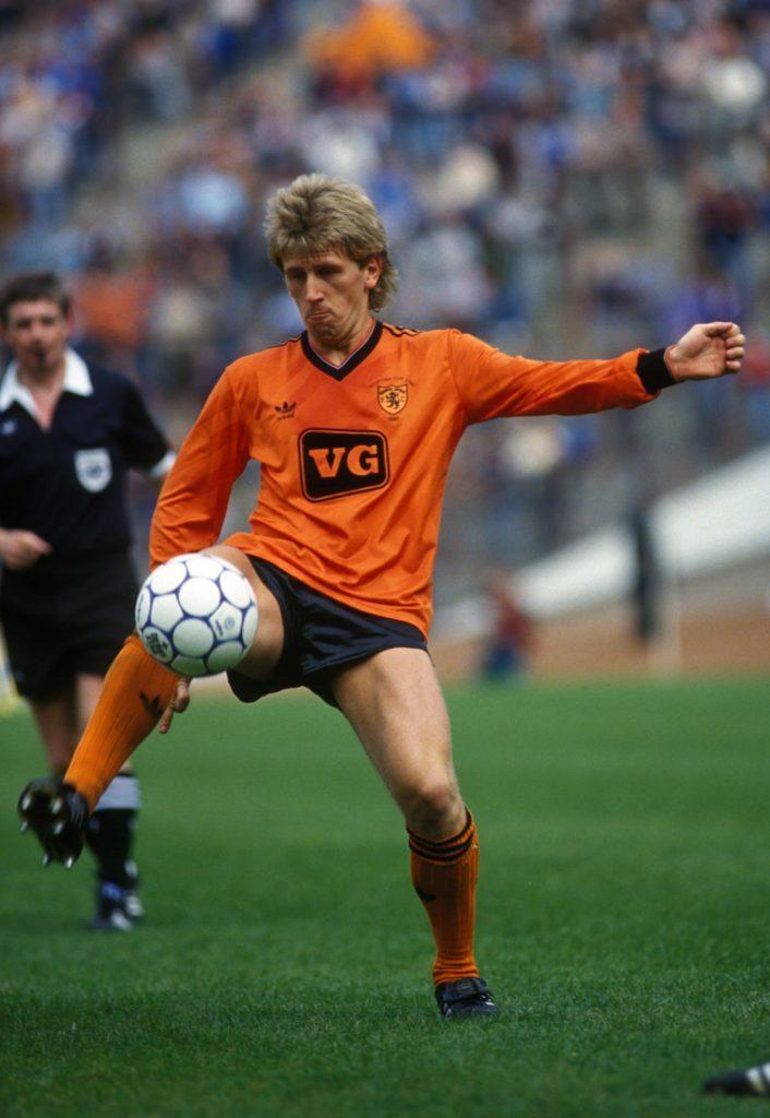 Iain Ferguson in the 1987 Cup Final.