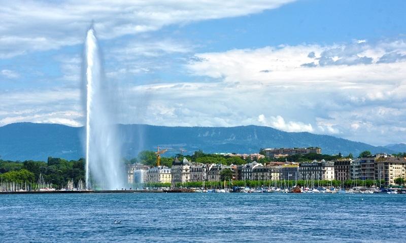 Jet harbour, Geneva