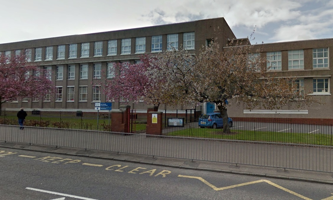 St Vincent's Primary School in Dundee.