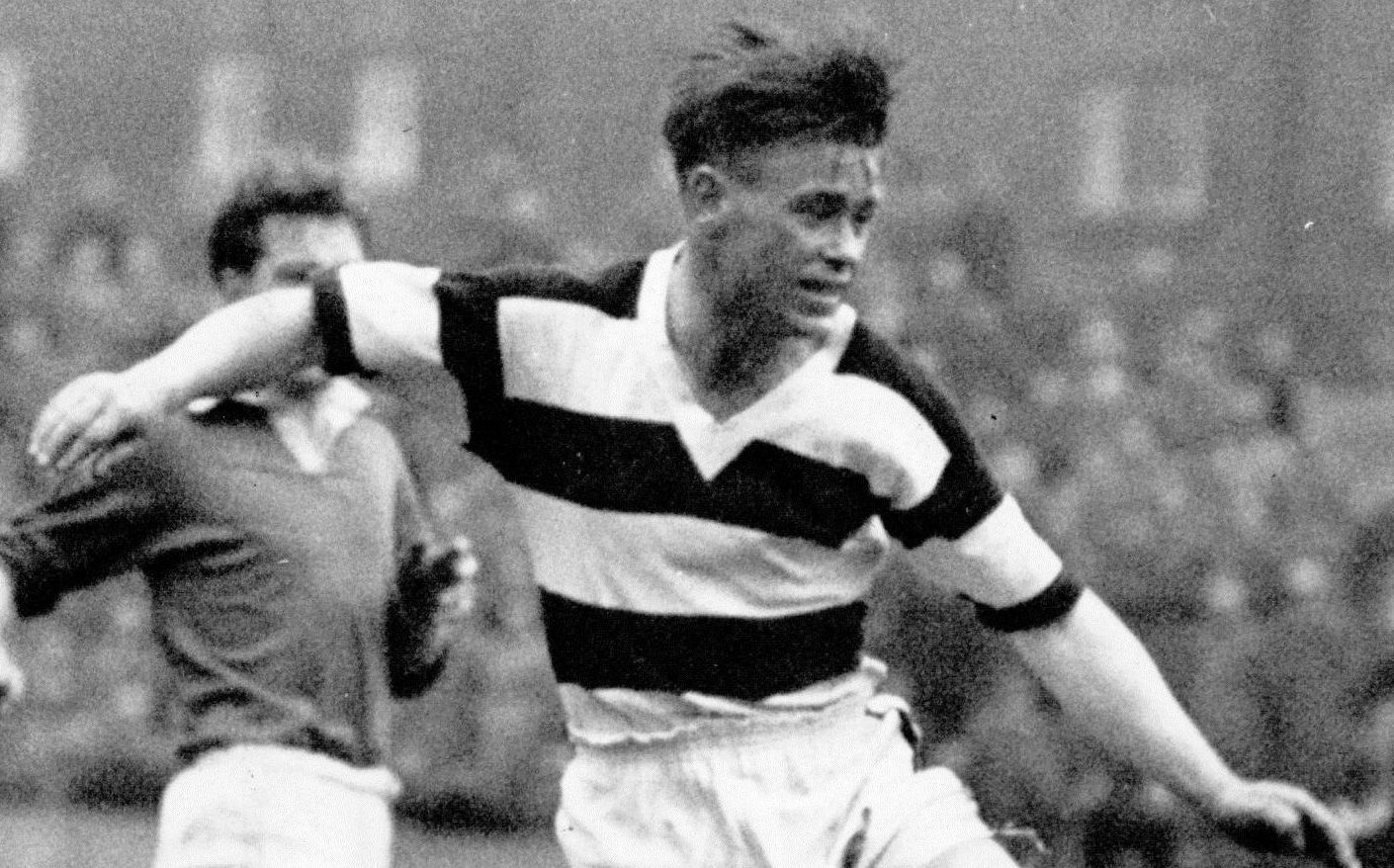 Johnny Coyle in action.