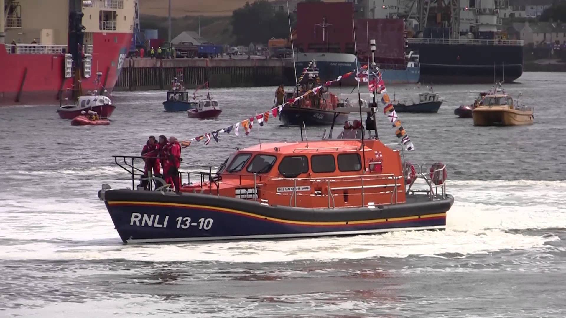 Montrose already has a Shannon-class lifeboat