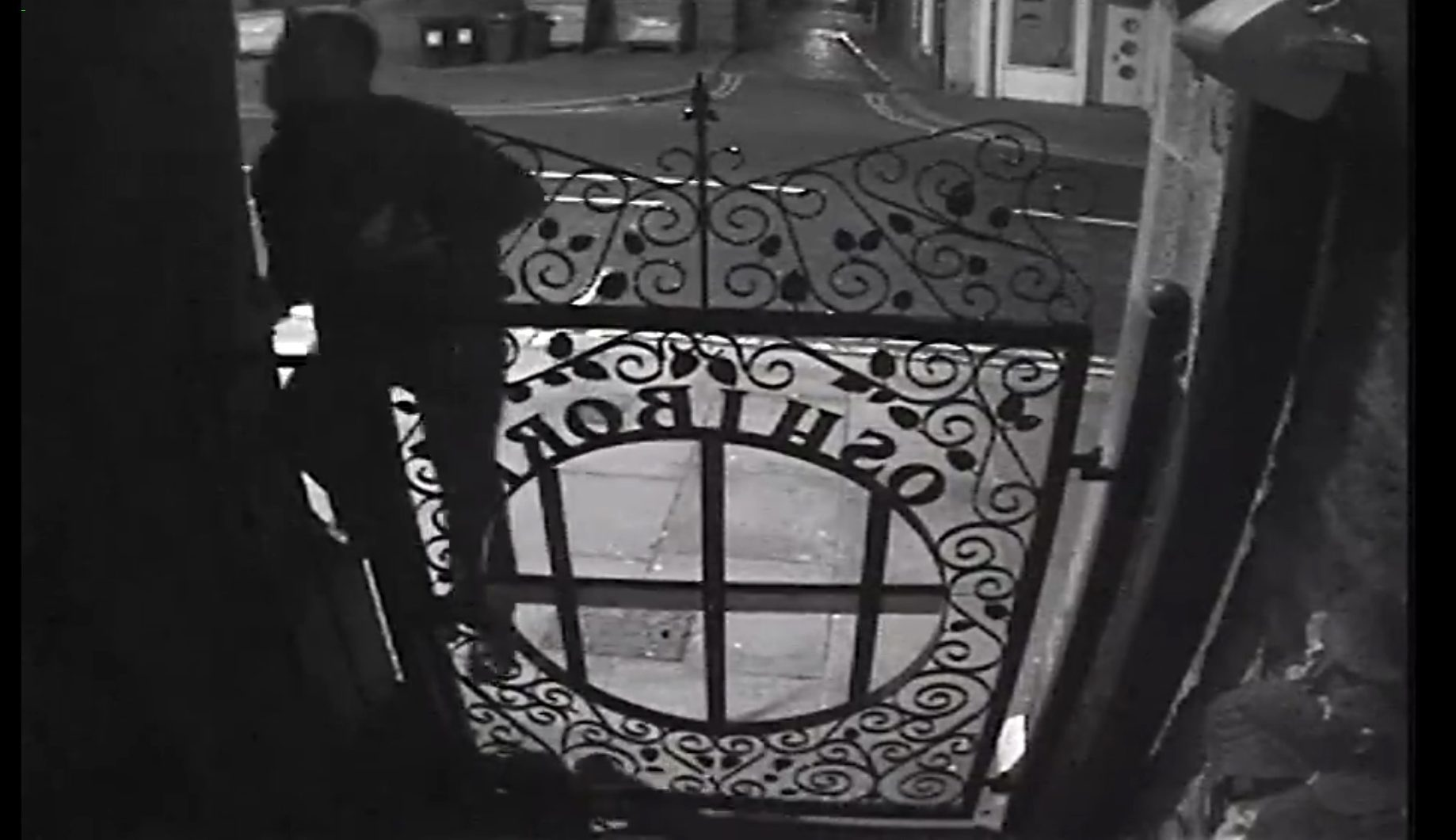 A recent break-in attempt caught on CCTV.