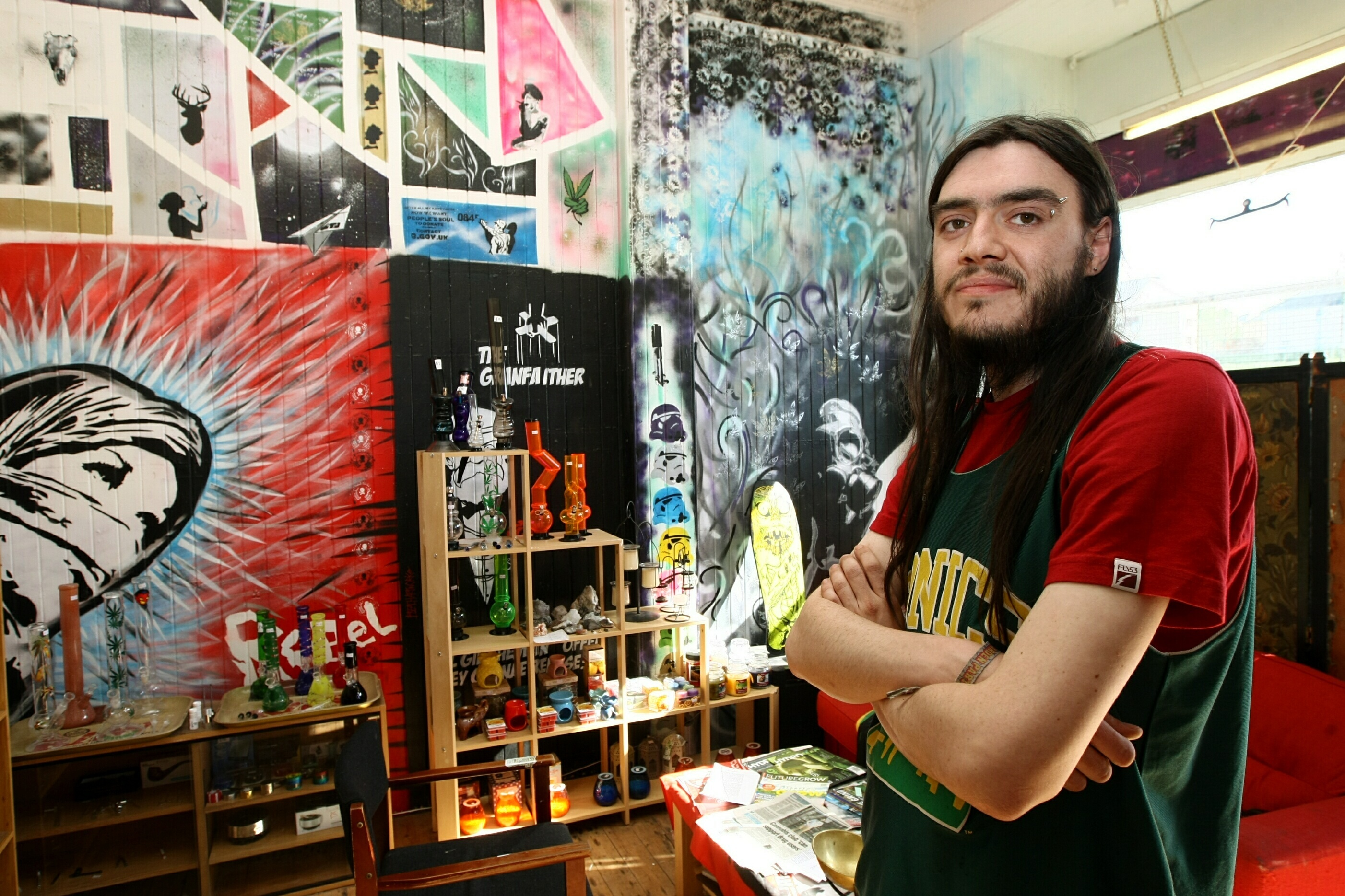 Nik Brown runs the Dundee Cannabis Collective