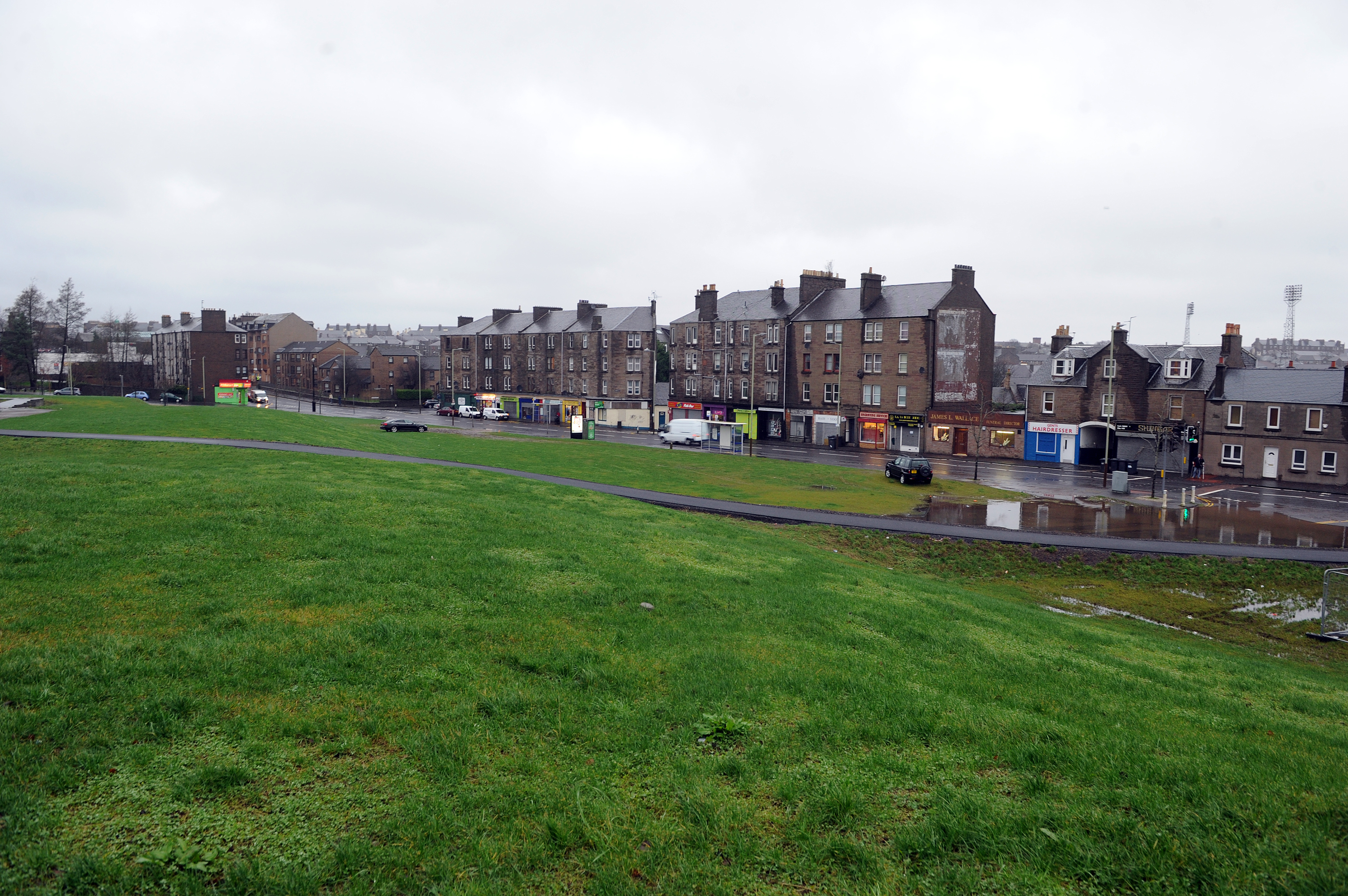 Ground at Derby Street, Dundee which was once home to two multis