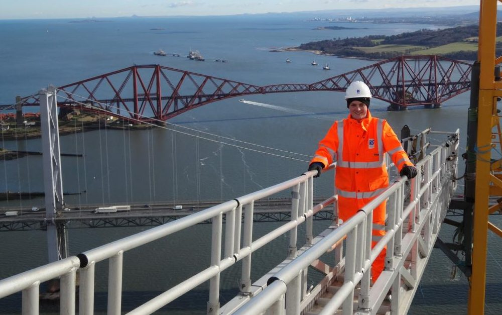 Paul worked on the Forth replacement crossing.